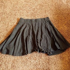 SO juniors black midi skirt